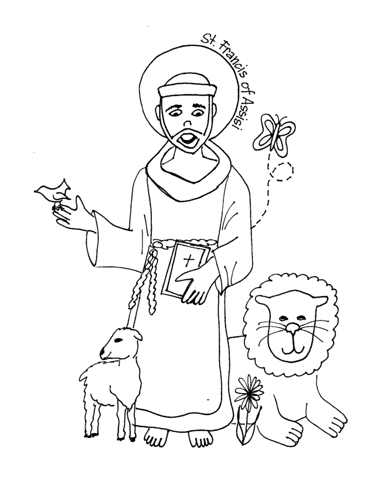 st francis xavier coloring page september downloads with images free printable francis st coloring page xavier
