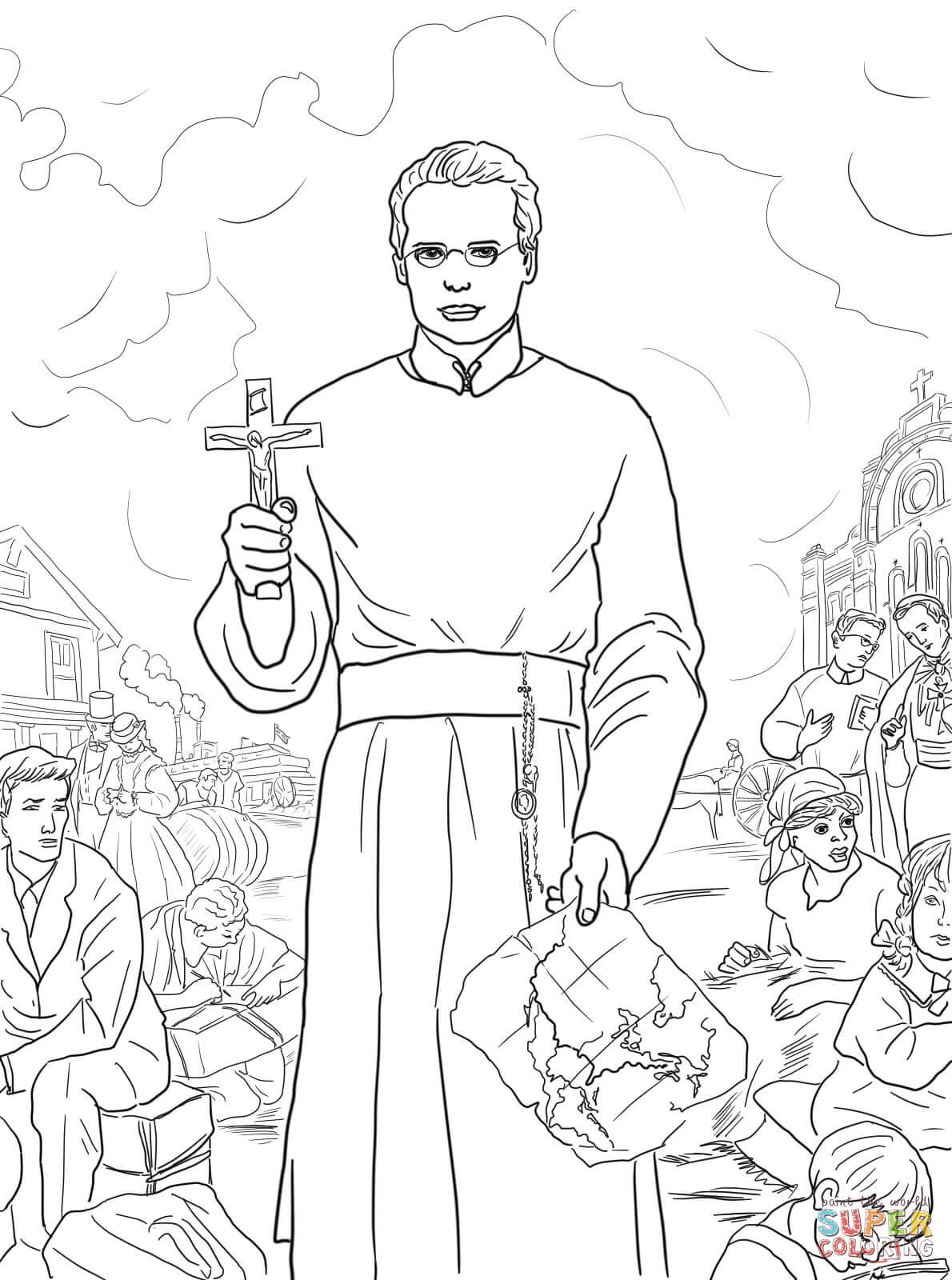 st francis xavier coloring page st francis of assisi coloring pages coloring home xavier coloring francis page st