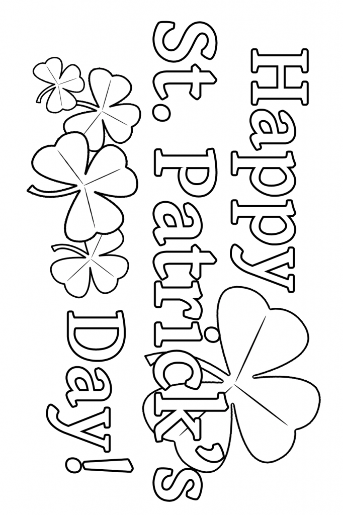 st patricks day coloring pages coloring pages holidays on pinterest 244 pins st day patricks pages coloring