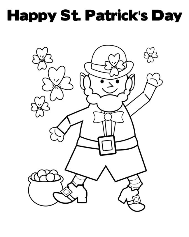 st patricks day coloring pages printable st patricks day coloring pages coloring home coloring st patricks day pages