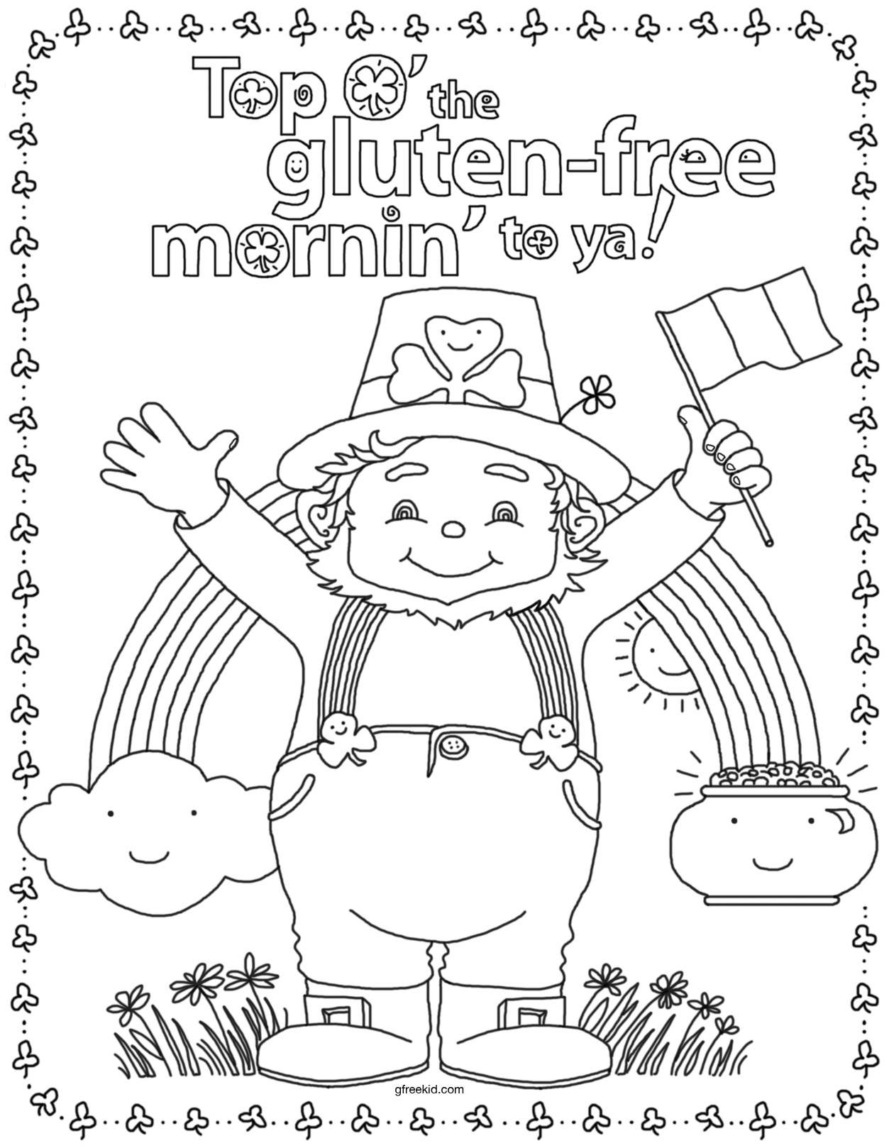 st patricks day coloring pages simple st patricks day ideas and coloring page for pages st patricks coloring day