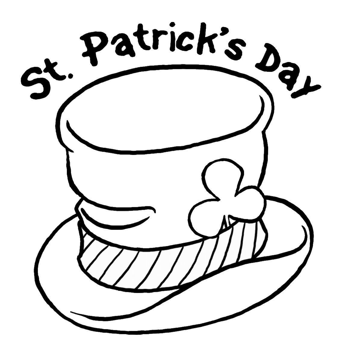 st patricks day coloring pages st patrick39s day coloring pages for childrens printable coloring st day patricks pages