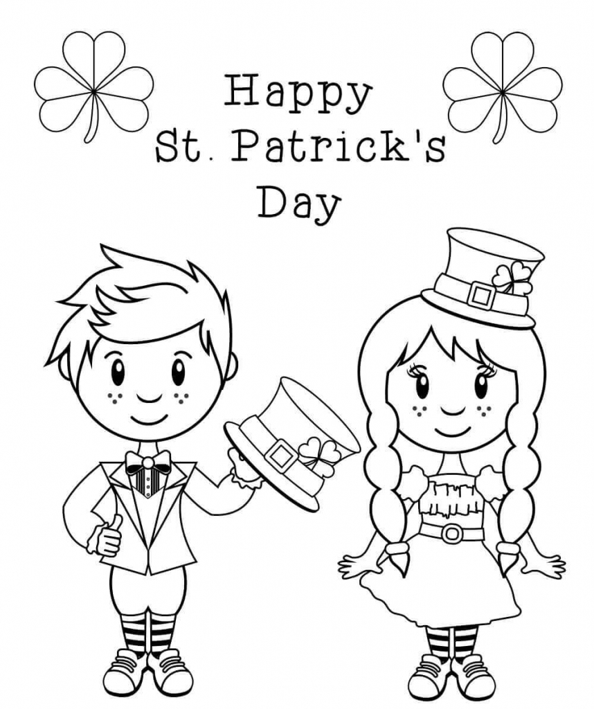 st patricks day coloring pages st patricks day coloring pages kidsuki st patricks coloring day pages