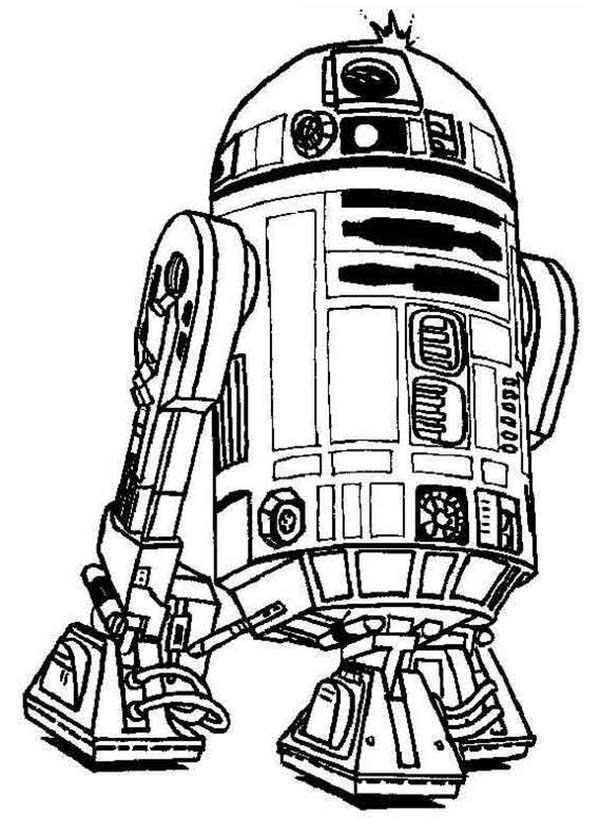 star wars droid coloring pages cute r2d2 droid in star wars coloring page download pages star coloring droid wars