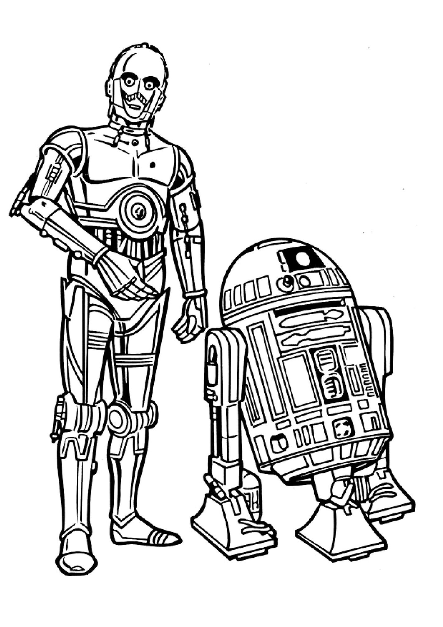 star wars droid coloring pages star wars line art clipart free to use clip art resource coloring star wars pages droid