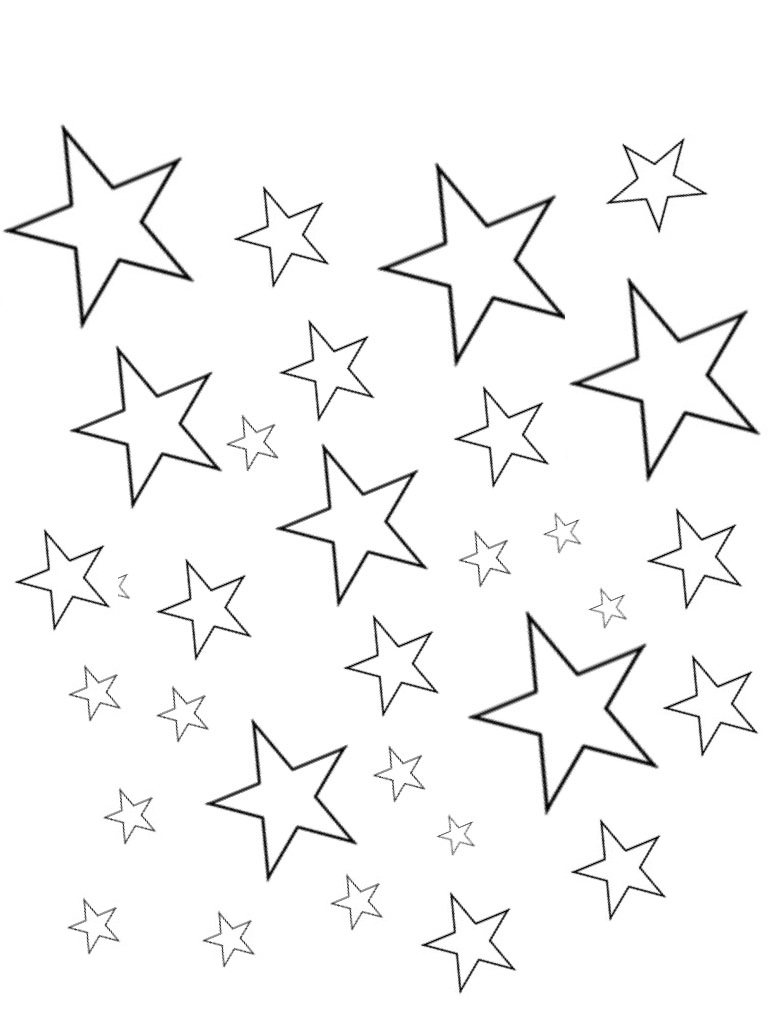 stars to colour and print free printable star coloring pages for kids to stars print and colour