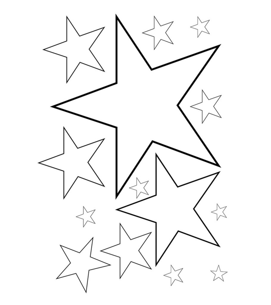 stars to colour and print star coloring pages for childrens printable for free to and print colour stars