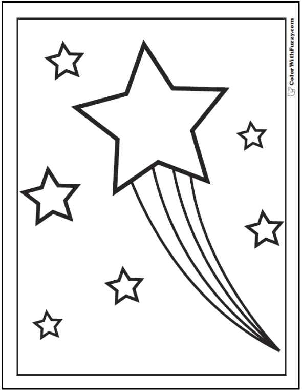 stars to colour and print star coloring pages for childrens printable for free to colour and print stars