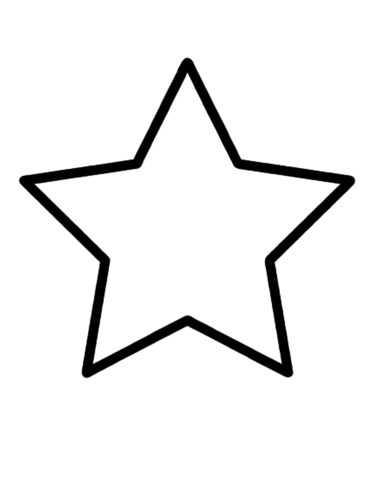 stars to colour and print star coloring pages for preschoolers  coloring home colour print and to stars