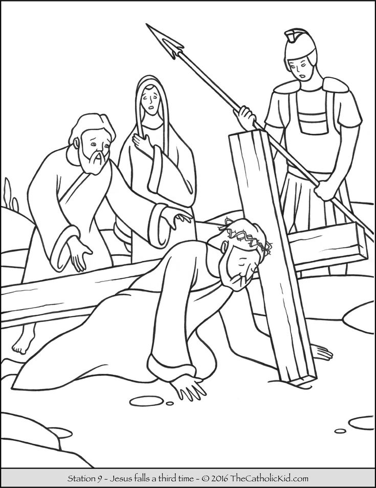 stations of the cross coloring 14 best images about stations of the cross coloring pages of cross stations coloring the