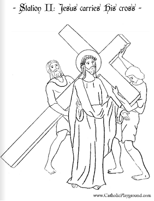 stations of the cross coloring coloring stations stations coloring the cross of