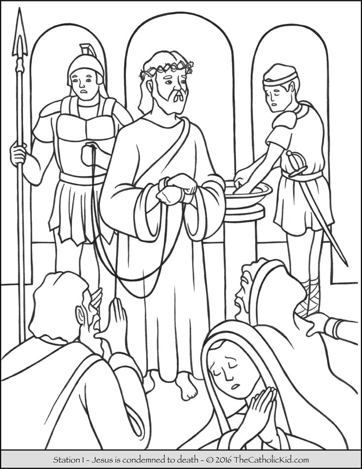 stations of the cross coloring free coloring pages of stations the cross sketch coloring cross stations coloring of the