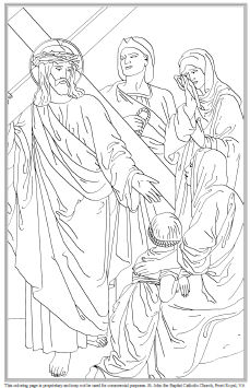 stations of the cross coloring stations of the cross coloring coloring the stations of cross