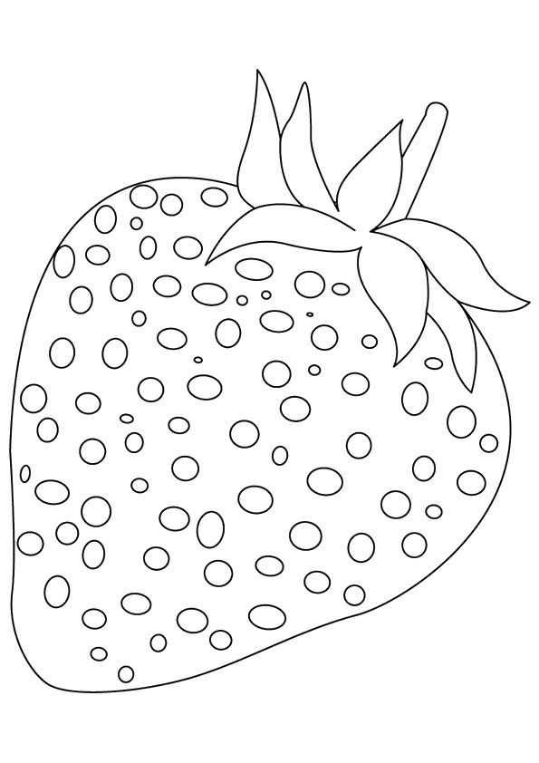 strawberry for coloring strawberry 20 printable coloring page for kids and adults coloring for strawberry