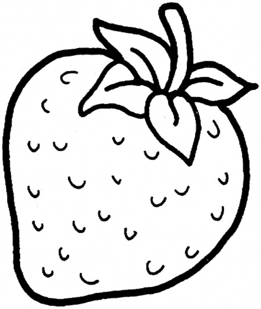 strawberry for coloring strawberry coloring pages coloringall strawberry coloring for