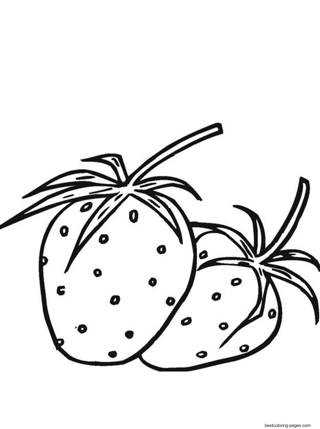 strawberry for coloring strawberry coloring pages download and print strawberry for coloring strawberry