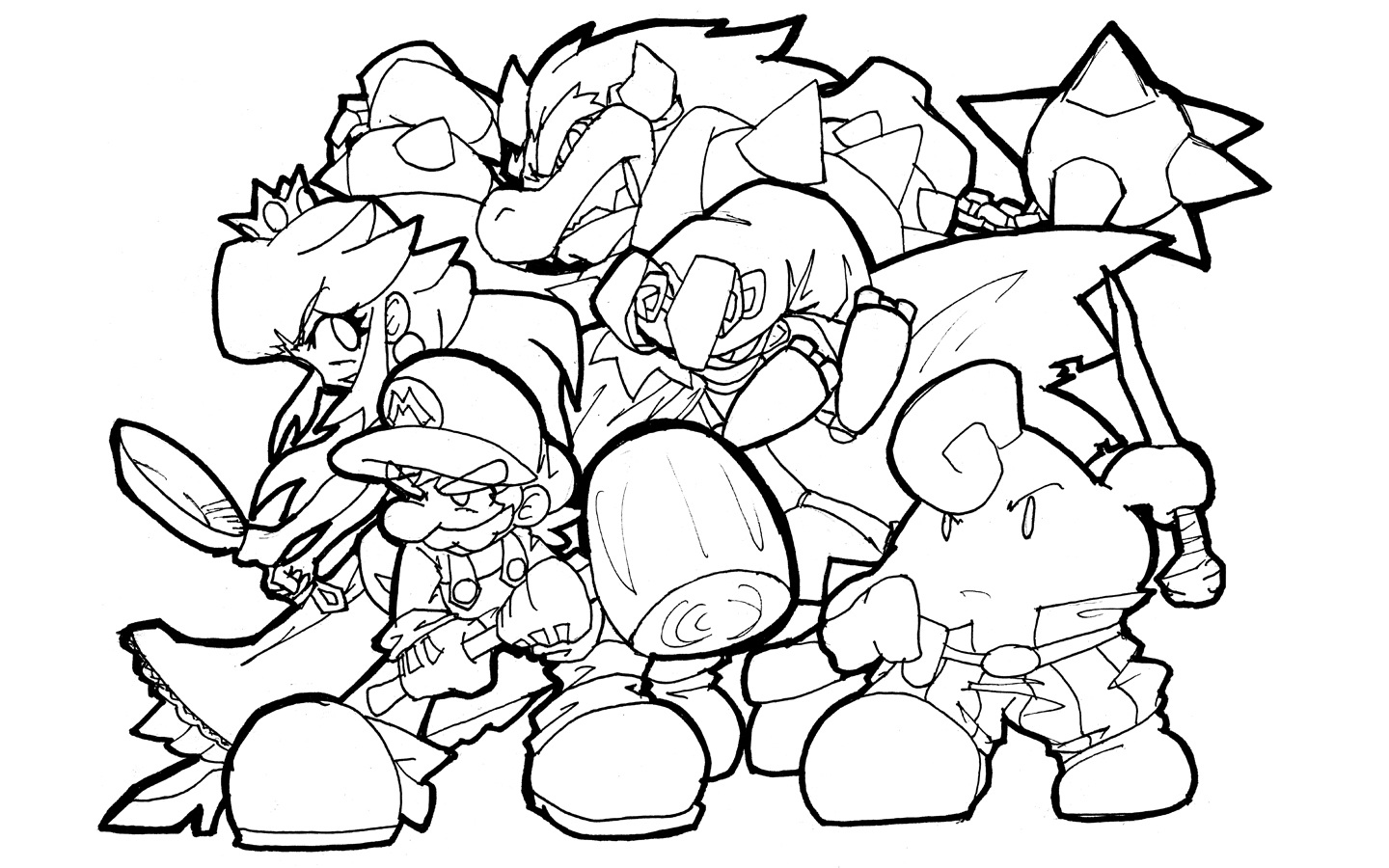 super mario bros printable coloring pages 26 best images about coloriages super mario on pinterest pages coloring mario super bros printable