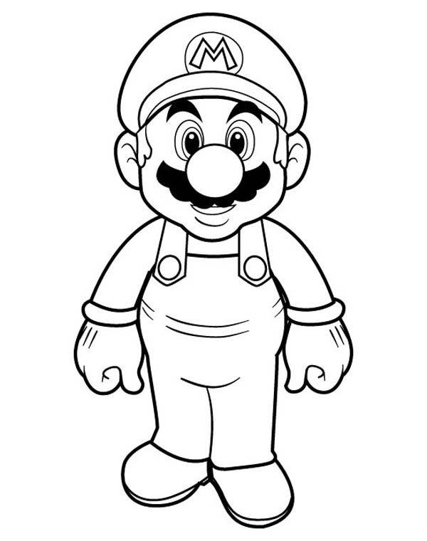 super mario brothers printables mario halloween coloring pages at getcoloringscom free brothers printables mario super