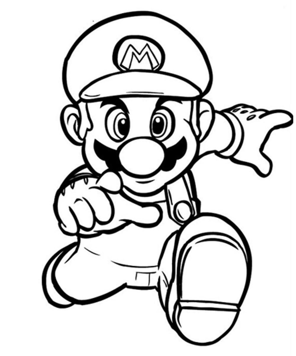 super mario brothers printables mario printable coloring pages free coloring home super brothers mario printables