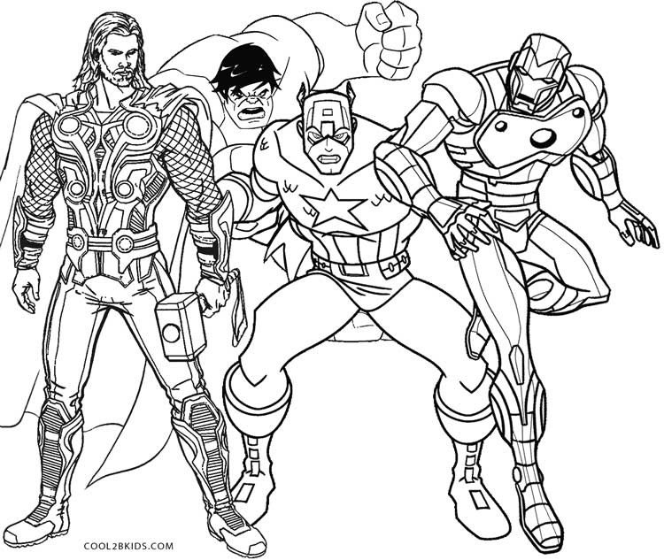 superhero coloring games printable thor coloring pages for kids cool2bkids games coloring superhero