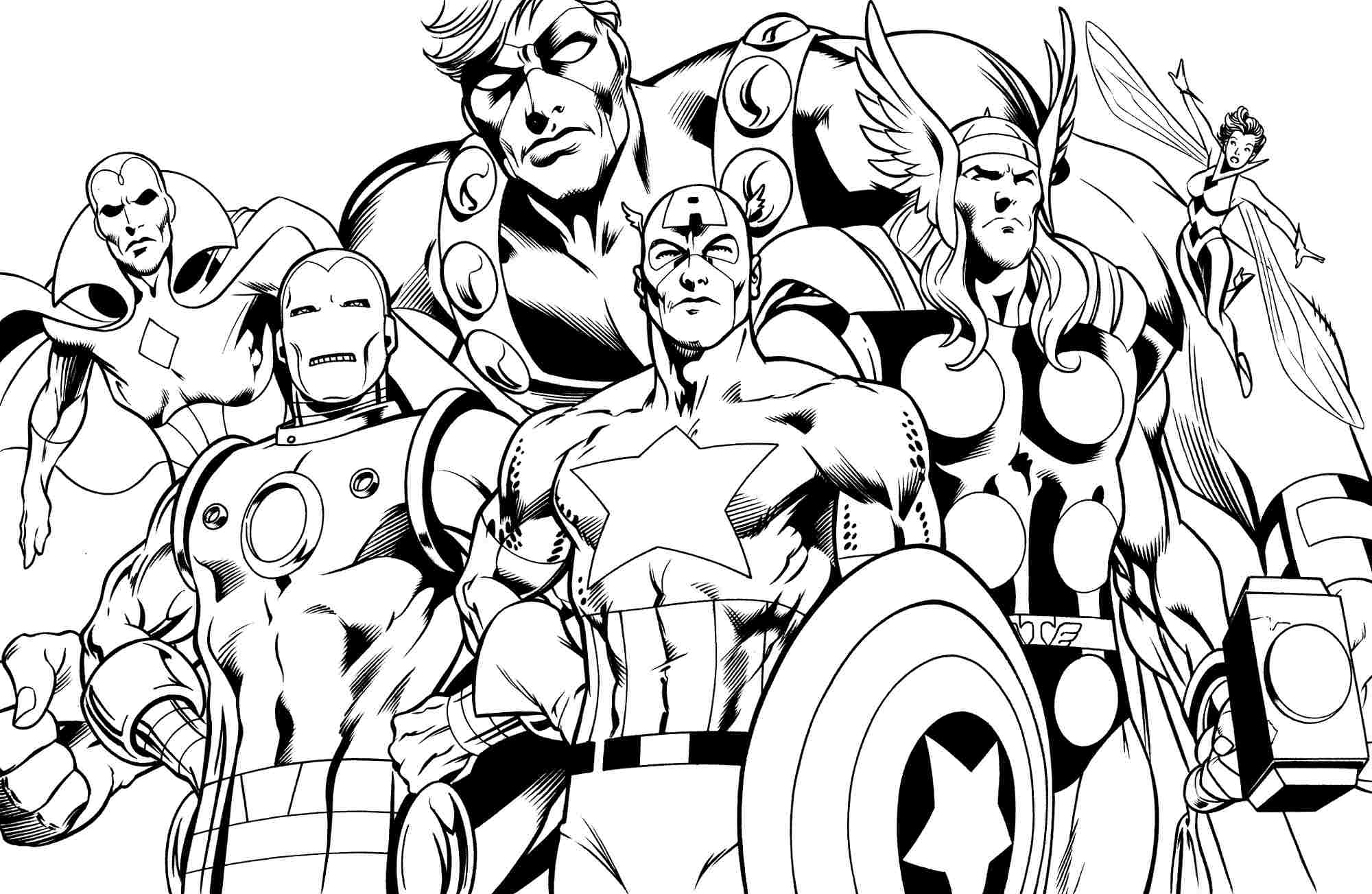 superhero coloring pages superhero coloring pages to download and print for free superhero pages coloring
