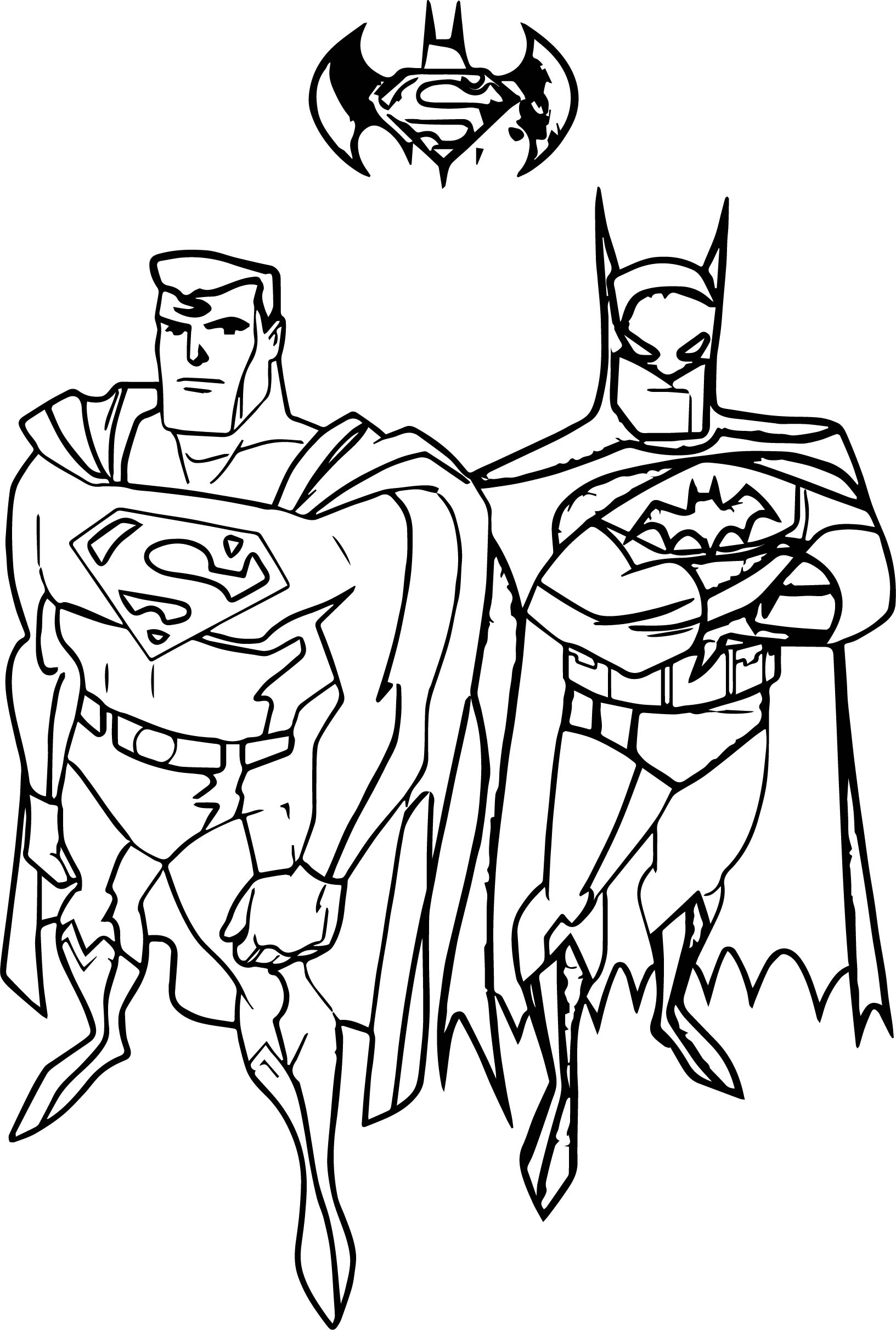 superman batman coloring pages superman and batman coloring pages coloring pages for kids pages superman batman coloring