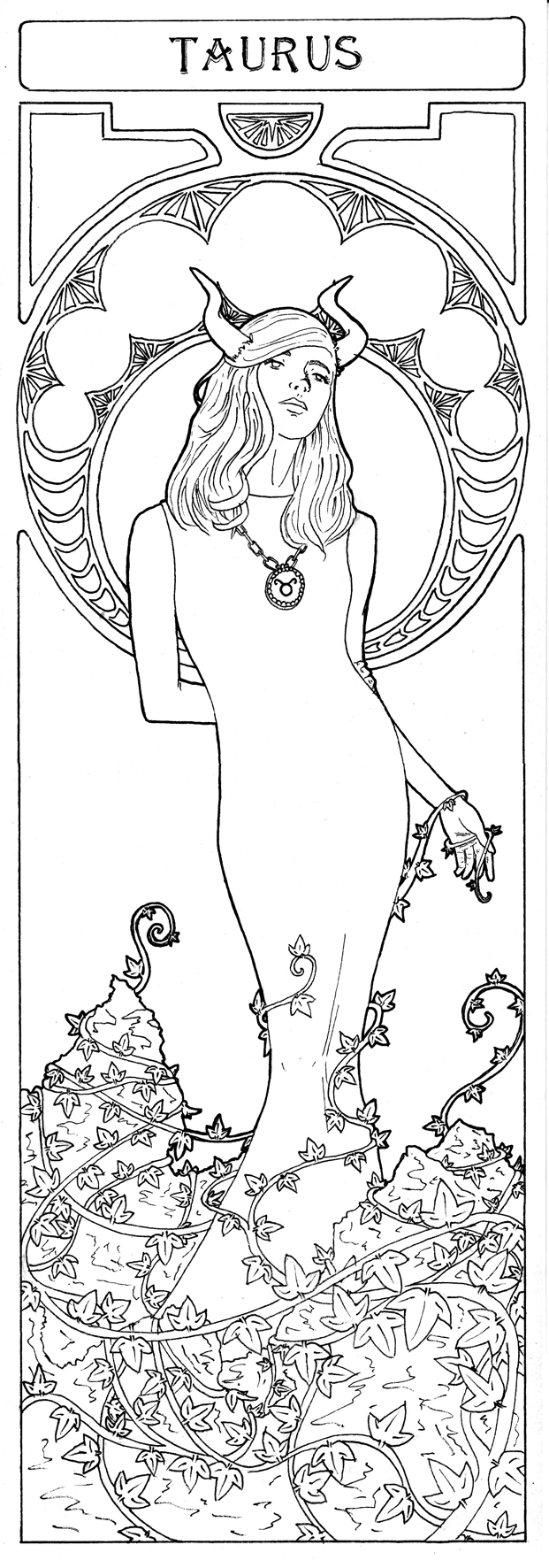 taurus zodiac coloring pages the power of the earth element taurus art zodiac art coloring pages zodiac taurus