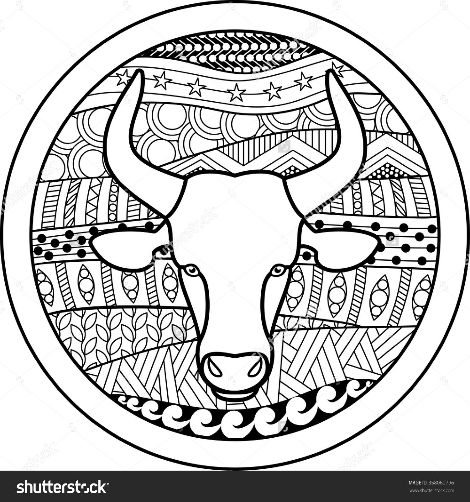 taurus zodiac coloring pages zodiac sign taurus zentangle zodiac signs taurus zodiac zodiac taurus pages coloring