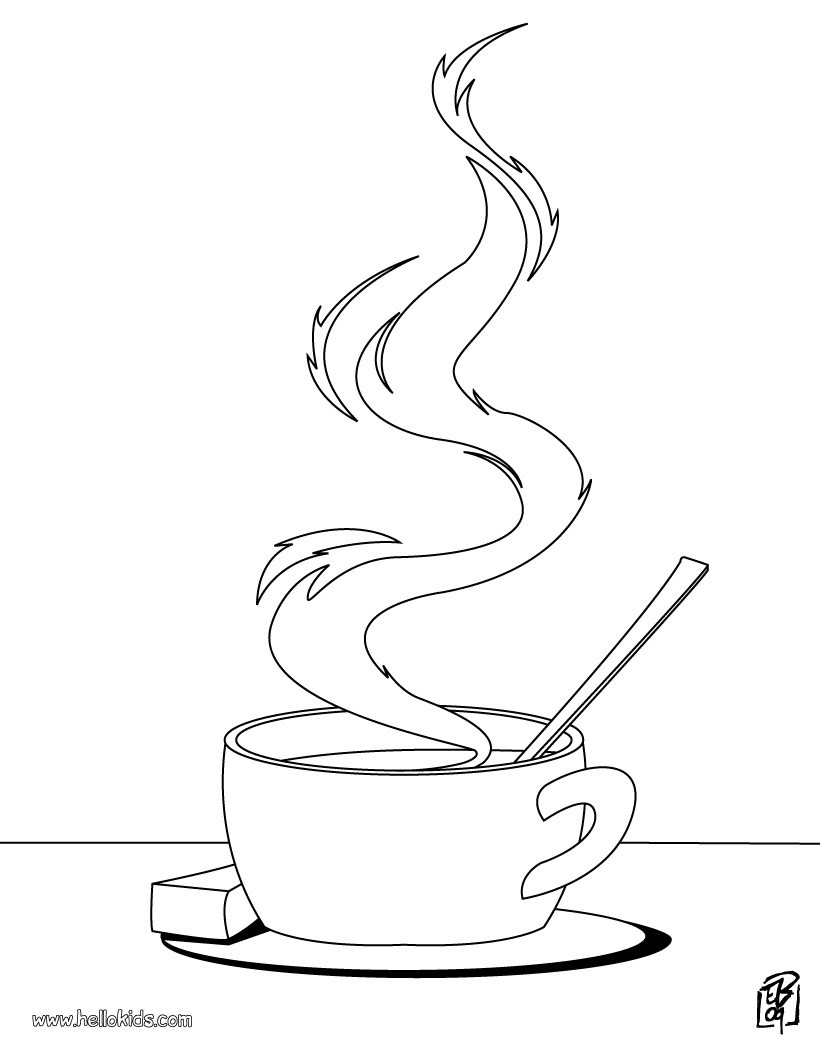 tea cup coloring page cooking coloring pages cup of tea cup tea coloring page