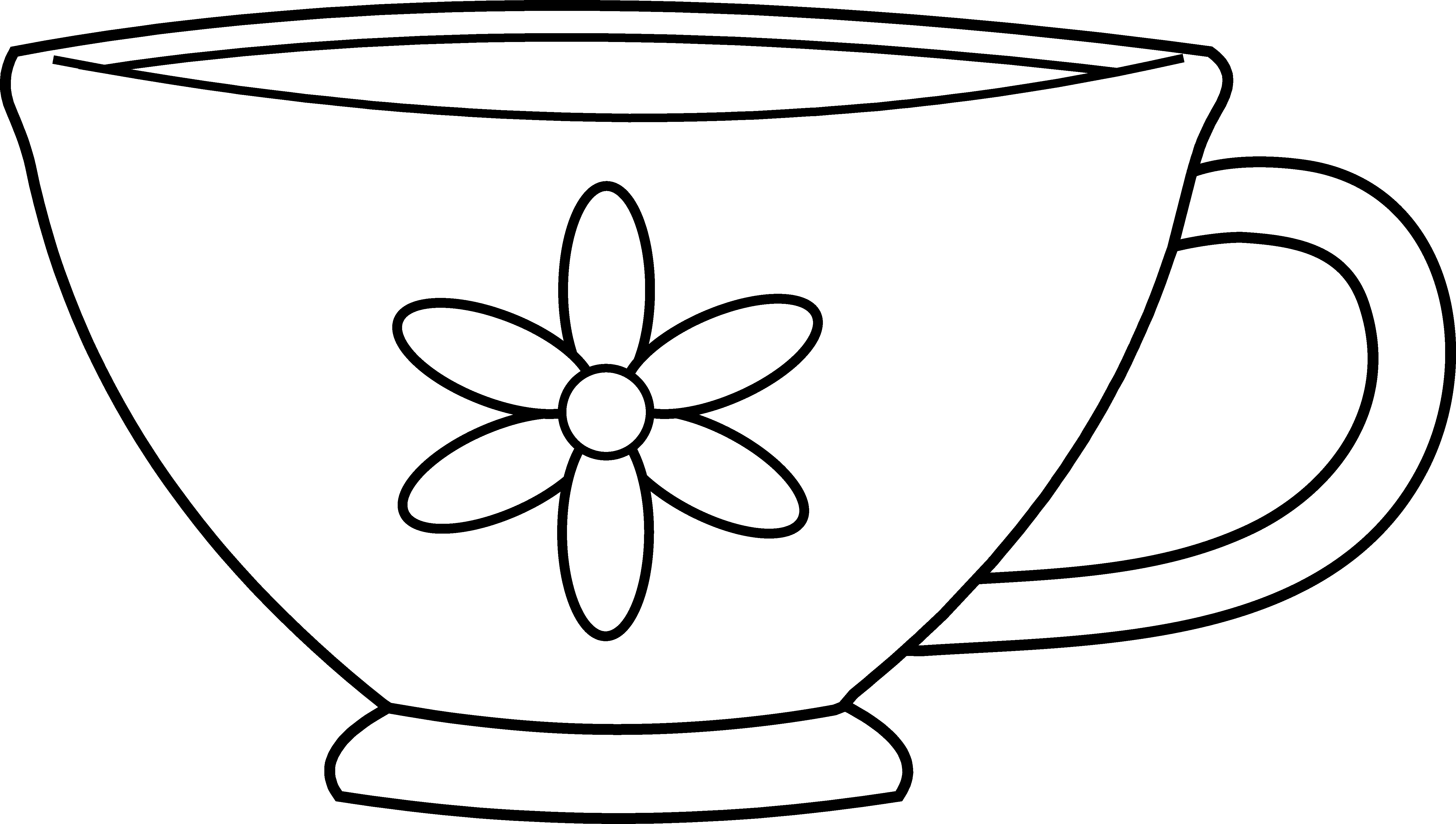tea cup coloring page my cup overflows tea and coffee coloring cup page tea