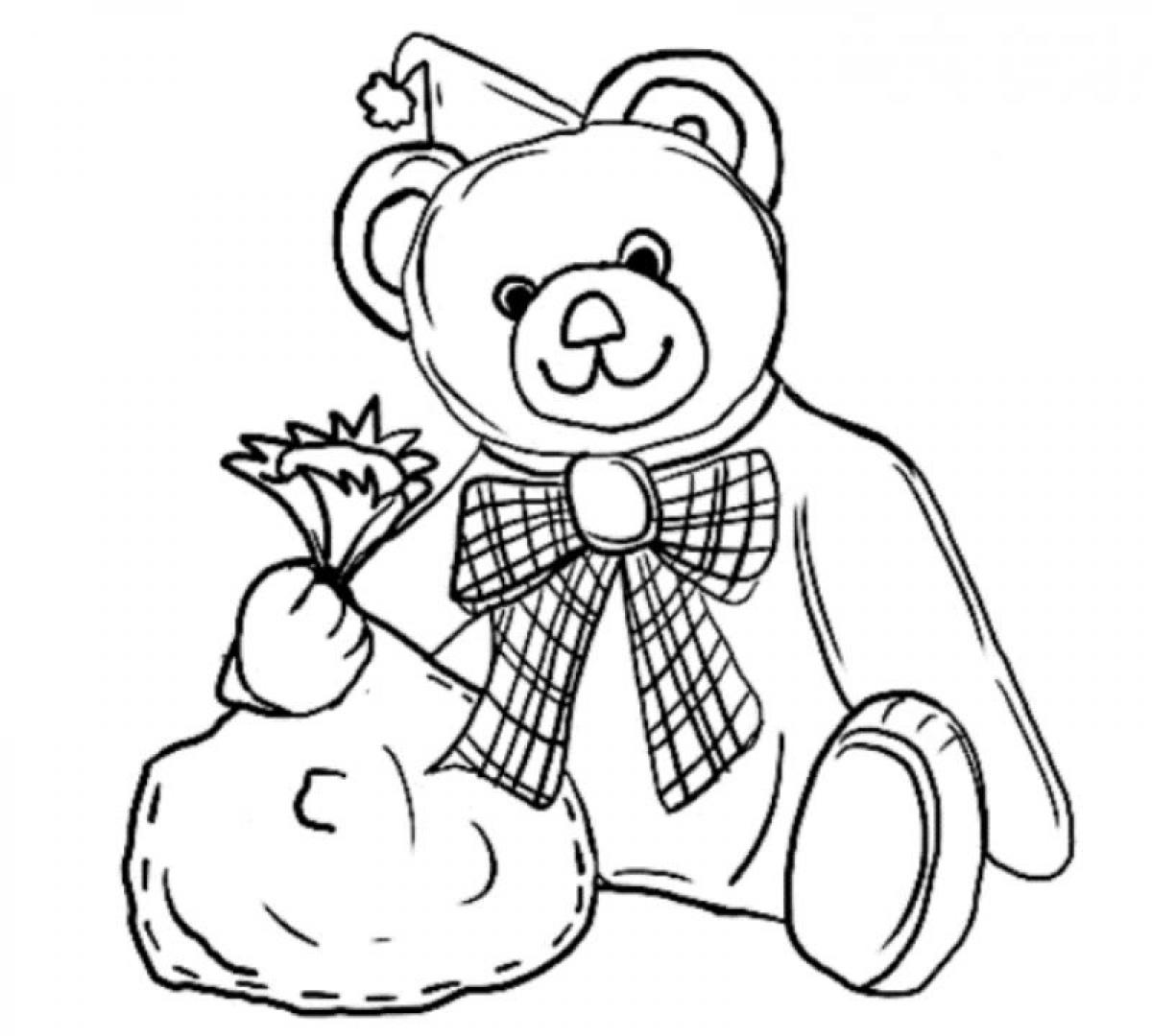 teddy bear colour in printable teddy bear coloring pages for kids bear in colour teddy