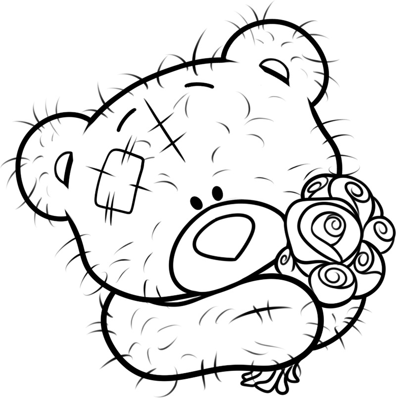 teddy bear colour in teddy bear drawing with heart free download on clipartmag bear teddy in colour