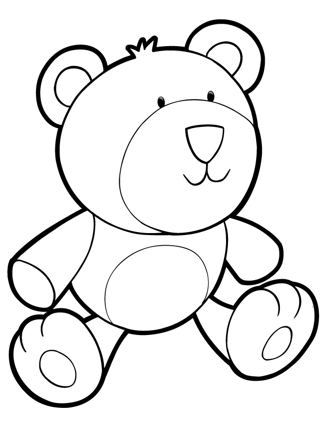 teddy bear colour in teddy bears coloring pages learny kids bear in teddy colour
