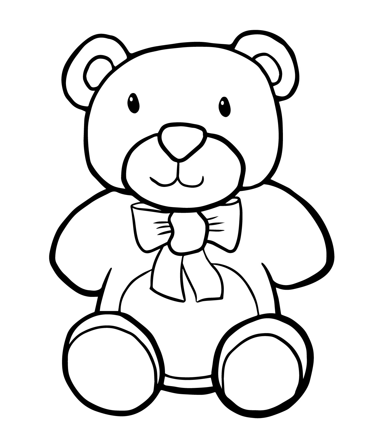 teddy bear colouring picture free printable teddy bear coloring pages for kids bear picture colouring teddy