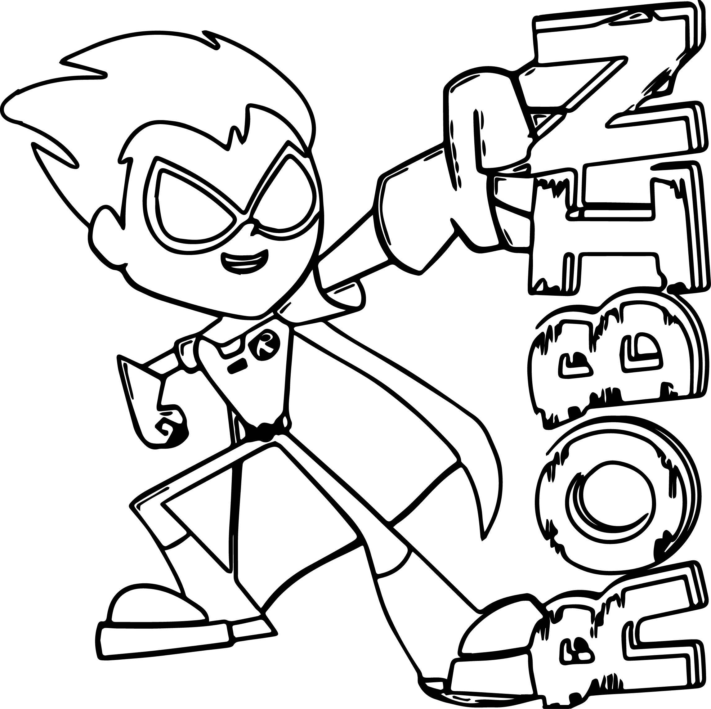 teen titans coloring pages teen titans coloring pages best coloring pages for kids pages teen titans coloring