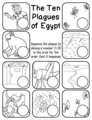 ten plagues coloring page the 5th plague of egypt coloring page plagues of egypt plagues page coloring ten