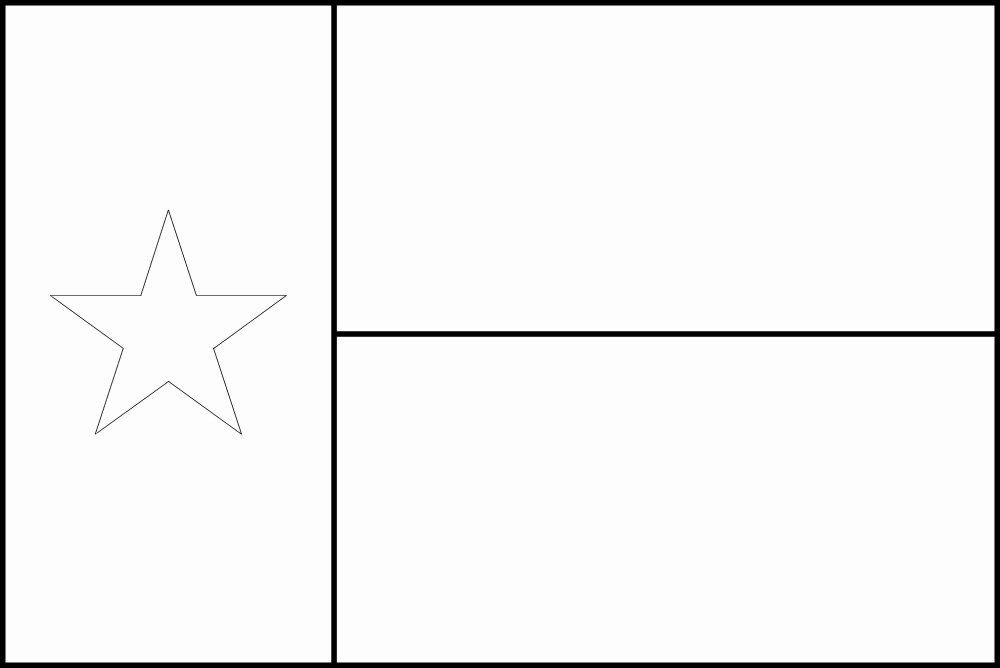 texas flag coloring page texas state flag coloring page di 2020 dengan gambar flag texas coloring page