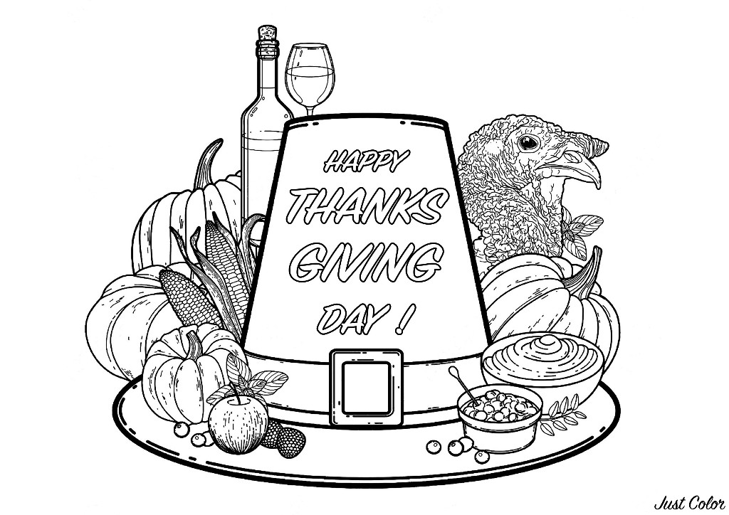 thanksgiving day coloring pages thanksgiving day printable coloring pages minnesota miranda coloring day pages thanksgiving