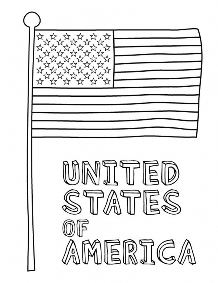 the american flag coloring page get this american flag coloring pages to print for kids american page coloring the flag