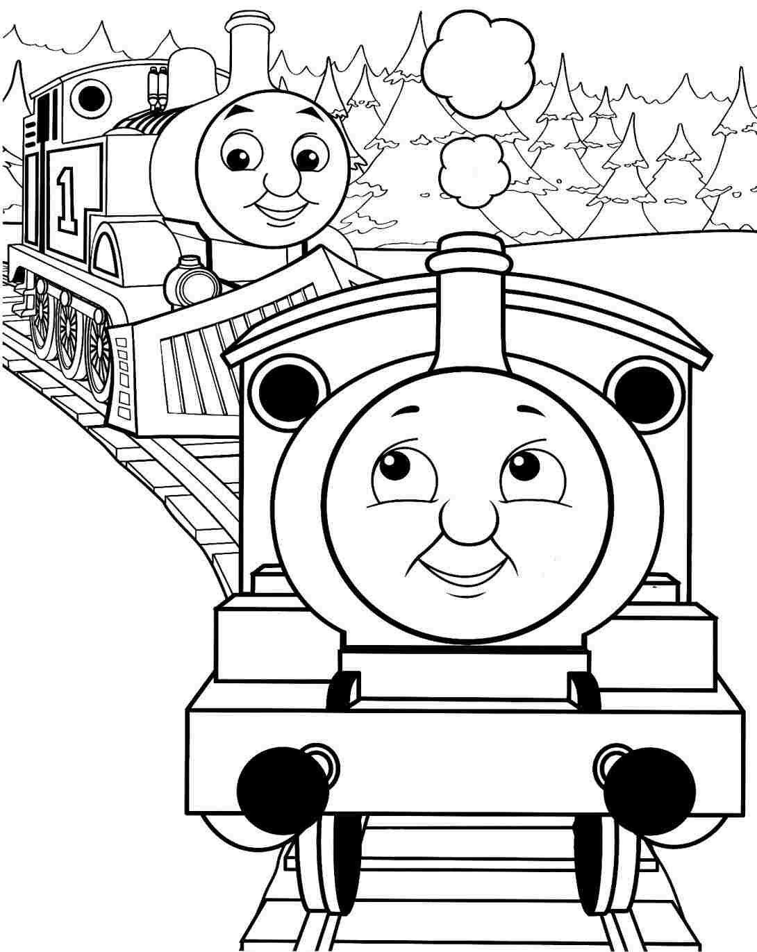 thomas and friends coloring free printable railway pictures thomas scenery drawing for and coloring friends thomas