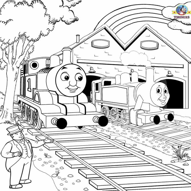thomas and friends coloring free thomas friends king of the railway coloring sheet coloring thomas and friends