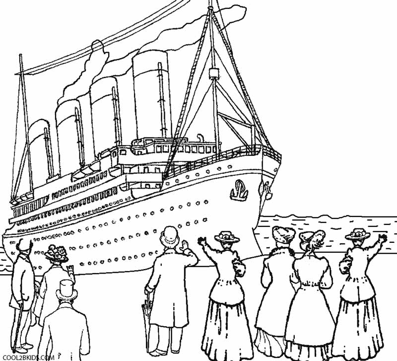 titanic ship titanic coloring pages collection of titanic clipart free download best titanic titanic ship pages coloring titanic