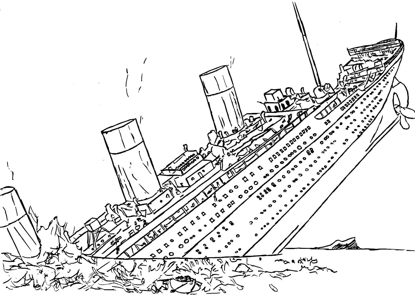 titanic ship titanic coloring pages titanic ship drawing at getdrawings free download coloring titanic ship titanic pages