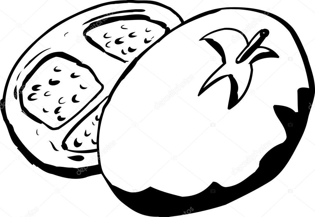 tomato outline tomato slice drawing at getdrawingscom free for tomato outline