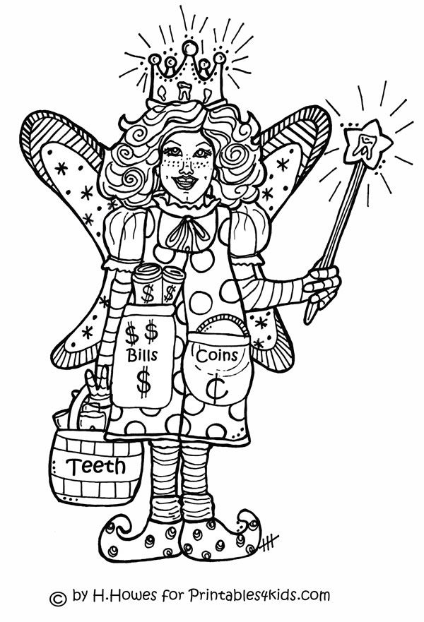 tooth fairy pictures to color free easy printable coloring pages about teeth coloring home color to tooth pictures fairy