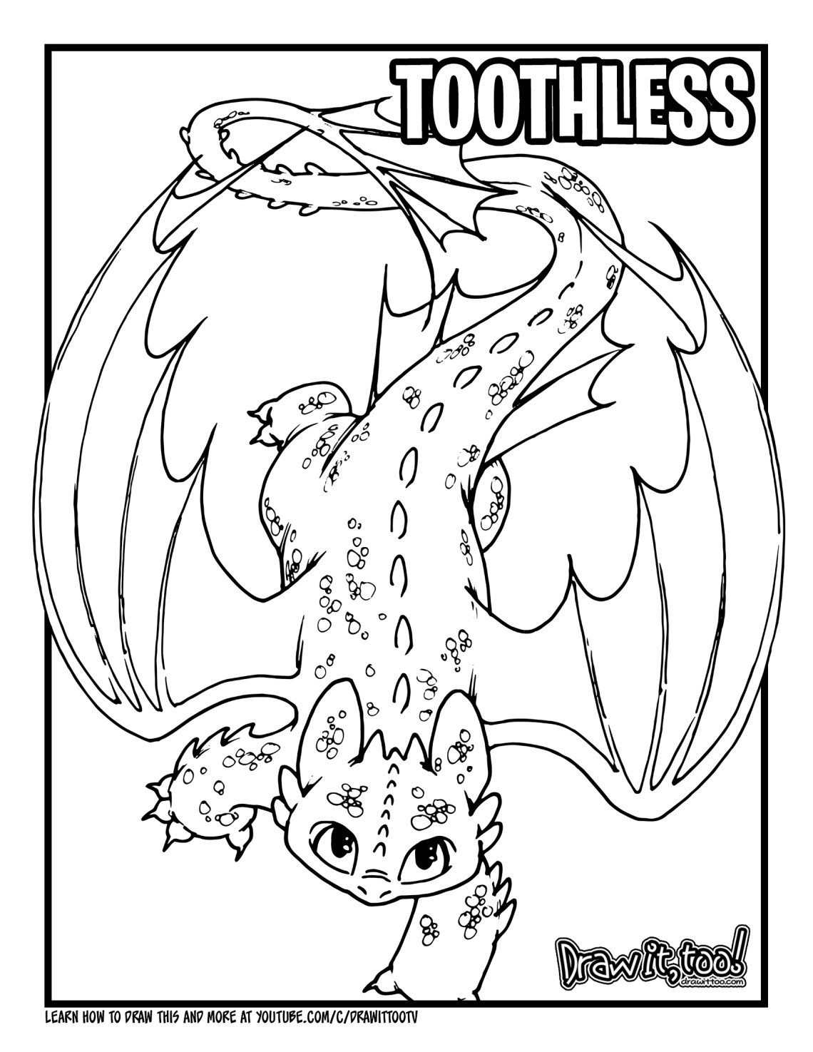 toothless coloring page free toothless coloring pages download and print toothless page coloring