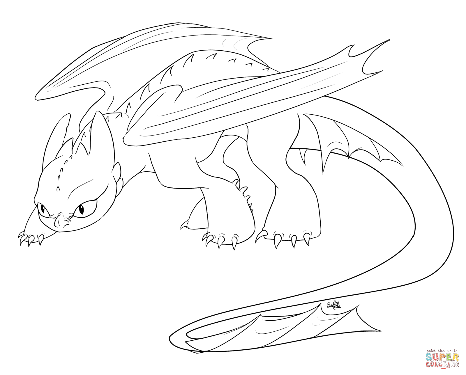 toothless coloring page how to train your dragon coloring pages toothless at coloring toothless page