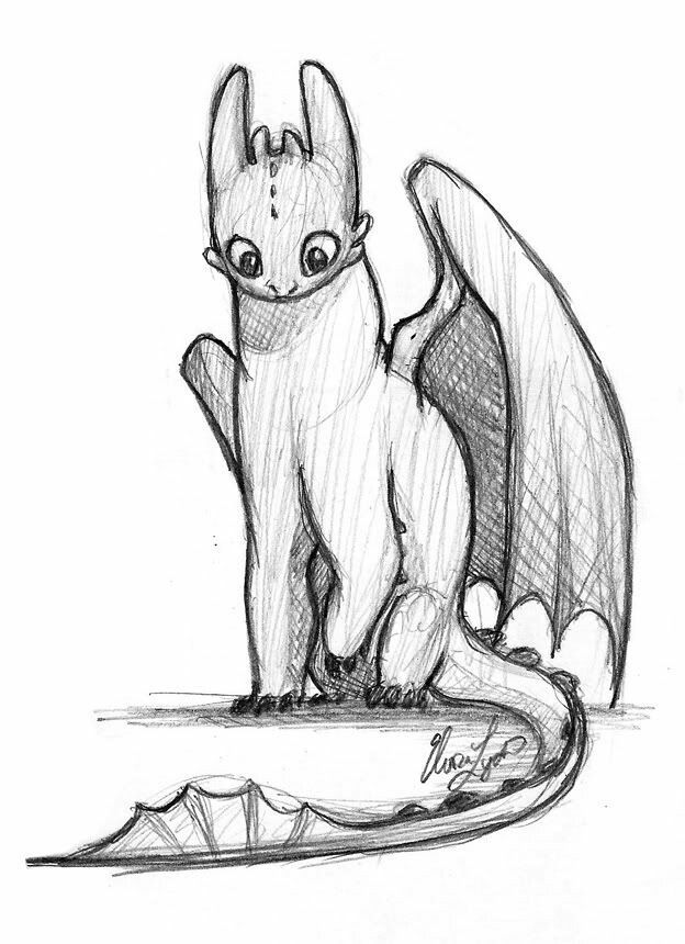 toothless dragon drawing dragons toothless pencil drawing by elsuri dragon drawing toothless