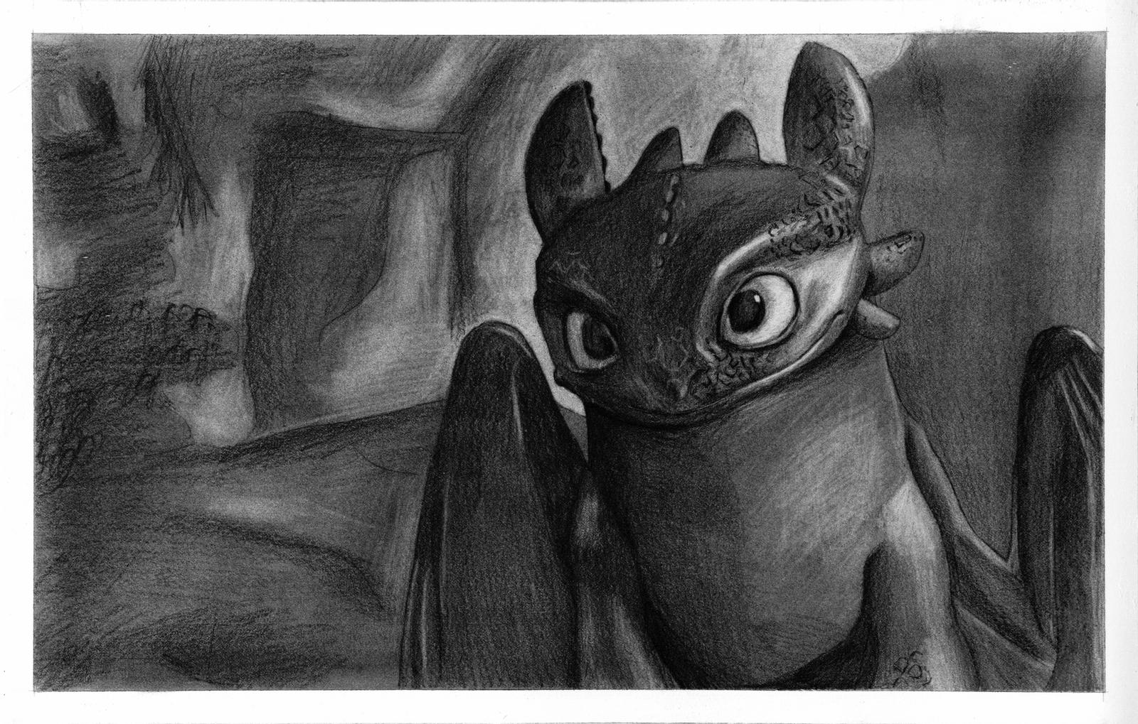 toothless dragon drawing how to draw toothless drawingforallnet drawing toothless dragon