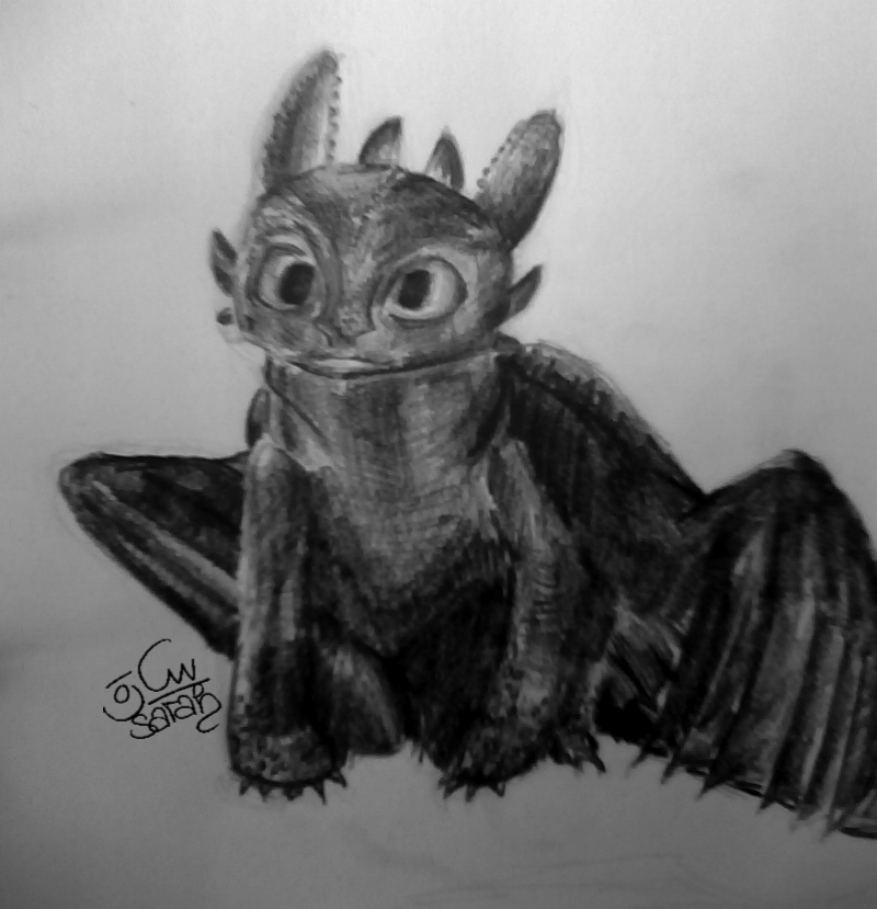 toothless dragon drawing toothless how to train your dragon mine from my favorite dragon drawing toothless